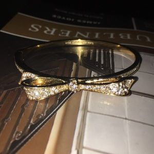 Kate spade Gold Bow Bangle